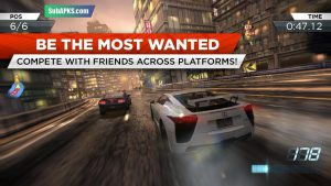 Need For Speed Most Wanted Mod Apk (Unlimited Money And Gold) 2021 3