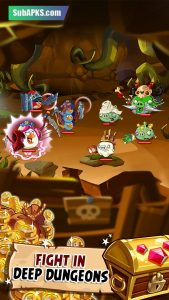 Angry Birds Epic Mod Apk Unlimited Everything 2021 3