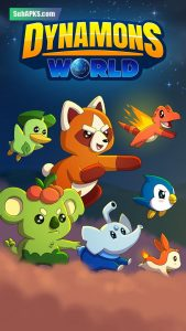 Dynamons World Mod Apk Hack Unlimited Coins And Gems 2021 1